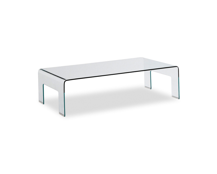 Sleek Glass Coffee Table From Calligaris