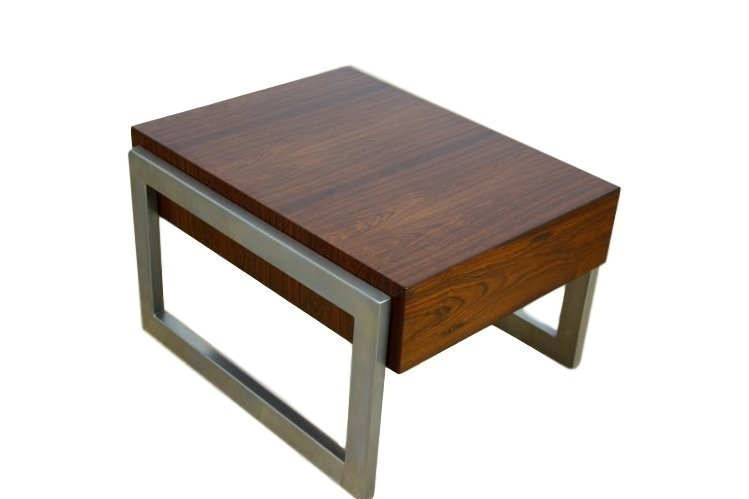Pair Of Mid Century Rosewood Tables