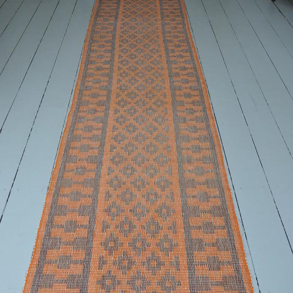 A Gorgeous Handwoven Swedish Rips Rug photo 1