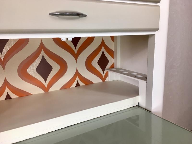 Mid Century Vintage Retro Kitchenette Larder Cupboard Pantry Storage Cabinet 1960s Retro Kitchen Storage Cupboard Harris Lebus Retro Cabinet Harris Lebus Vinterior