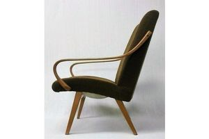 Czech Vintage Lounge Chair From The 60's. Designed By Jaroslav Smidek. photo