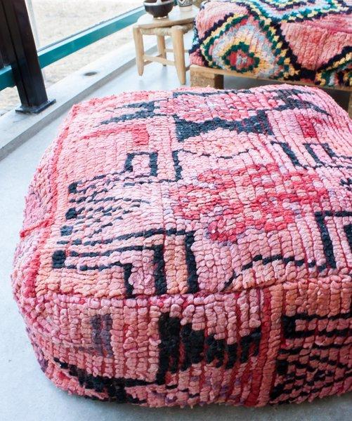 Boujaad Floor Pillow 'Fashionista'
