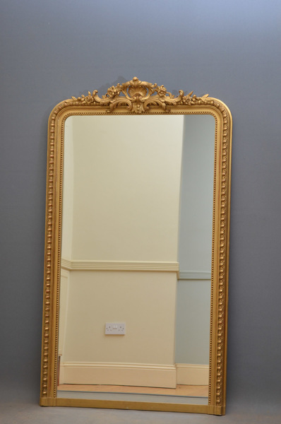 Xixth Gilt Wall Mirror