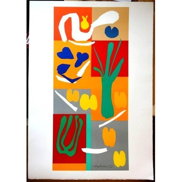 (After) Henri Matisse Vegetables