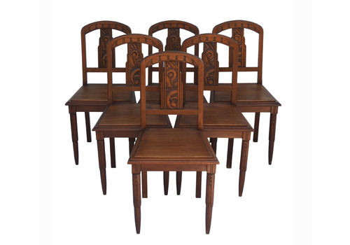 Art Deco Dining Chairs For