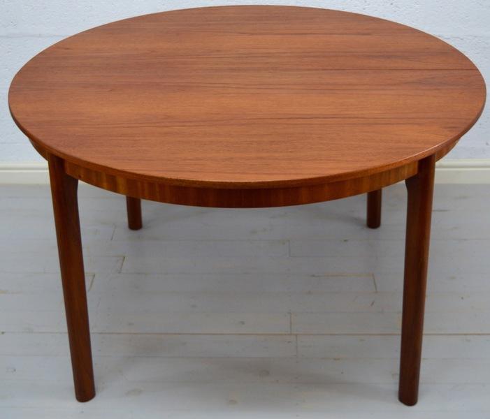 Mid Century Retro Teak Dining Table By Mc Intosh