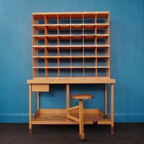 Vintage Postal Sorting Office Unit – French