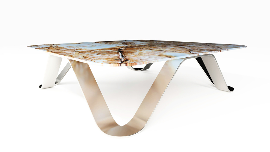 The Sinusoid Center Table