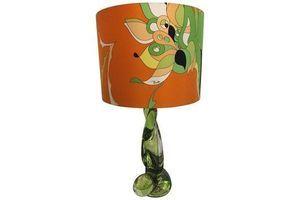 Thumb val saint lambert table lamp colour lime with pucci lamp shade 0