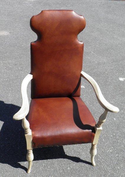 Dutch Leather Armchair