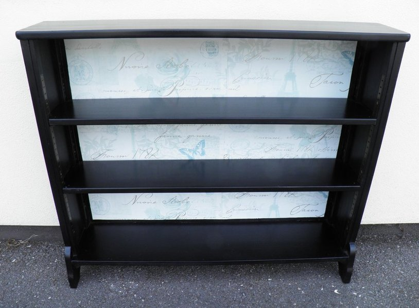 Upcycled Vintage Mahogany Bookcase