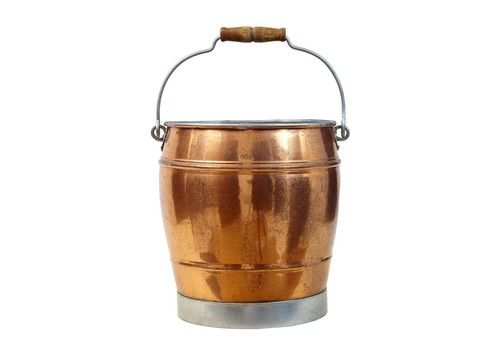 Arts And Crafts Scandinavian Copper Bucket