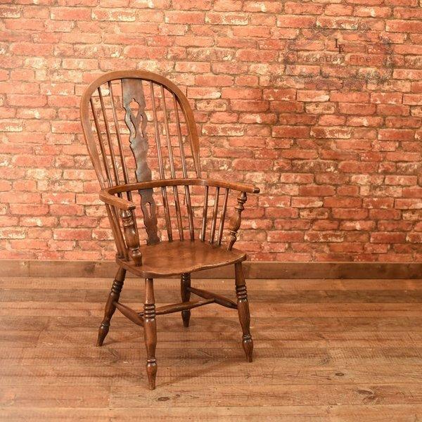Victorian Windsor Stick Back Chair, C.1870