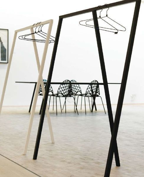 """2 Clothes Rack  """"Loop Stand"""" Designed By Leif Jorgensen For Hay"""