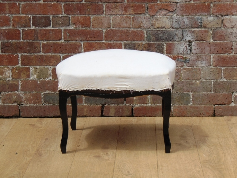 Shapely French Stool For Reupholstery photo 1