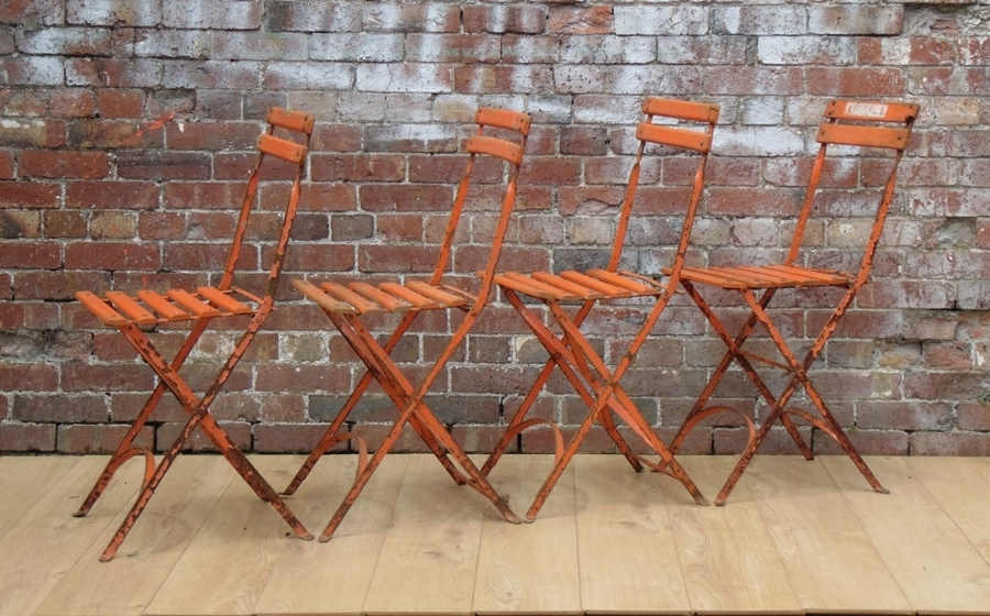Vintage French Bistro Chairs photo 1