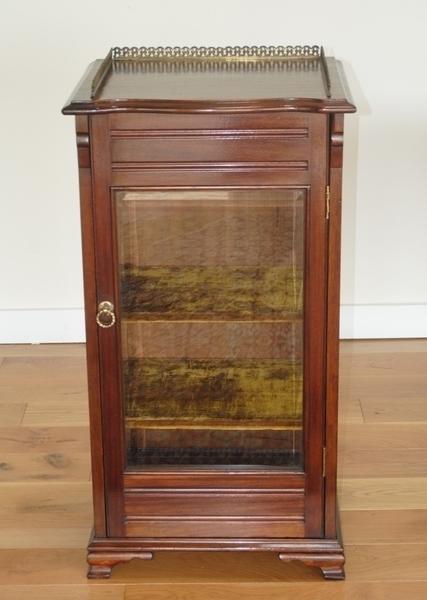 Late Victorian Mahogany Music Cabinet