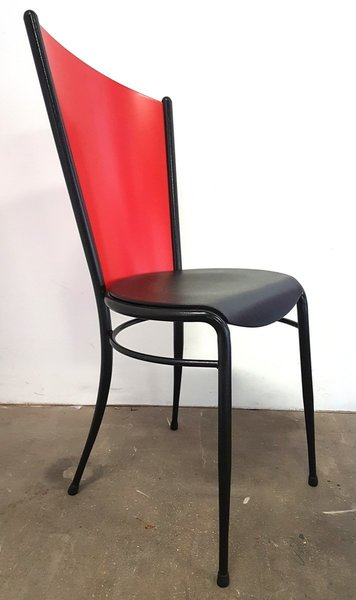Memphis Dining Chairs, 1980s, Set Of 6