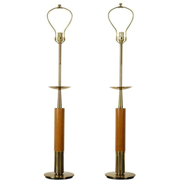 Large Pair Of American Midcentury Modern Table Lamps By The Stiffel Lamp Company Chicago Usa 1960s The Stiffel Lamp Company Vinterior