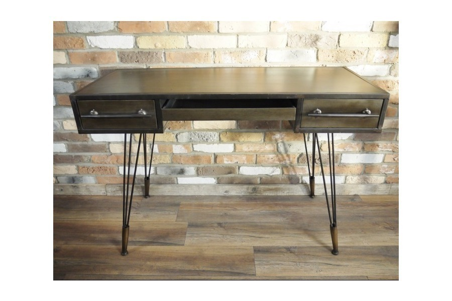 large industrial metal puter desk with drawers sideboard united kingdom of great britain and northern ireland 0