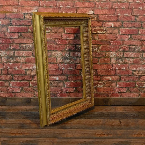Victorian Wood And Gilt Picture Frame, C.1880