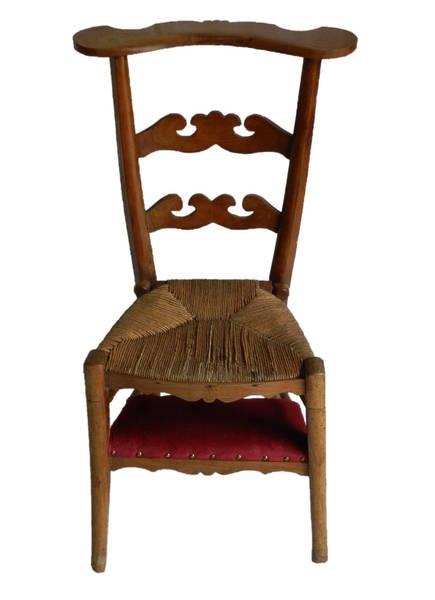 Prie Dieu Chair photo 1