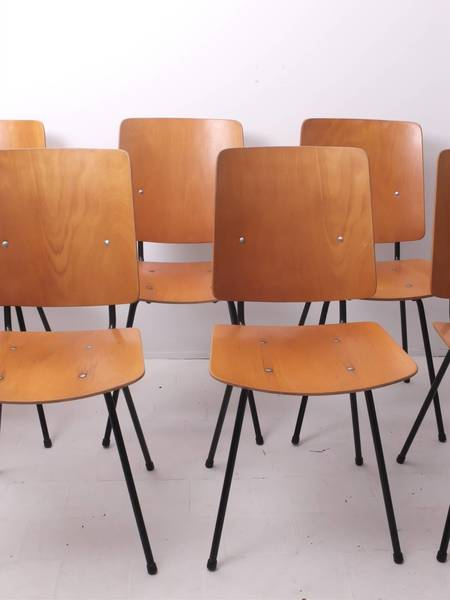 Jacques Hitier Chairs   24 Available