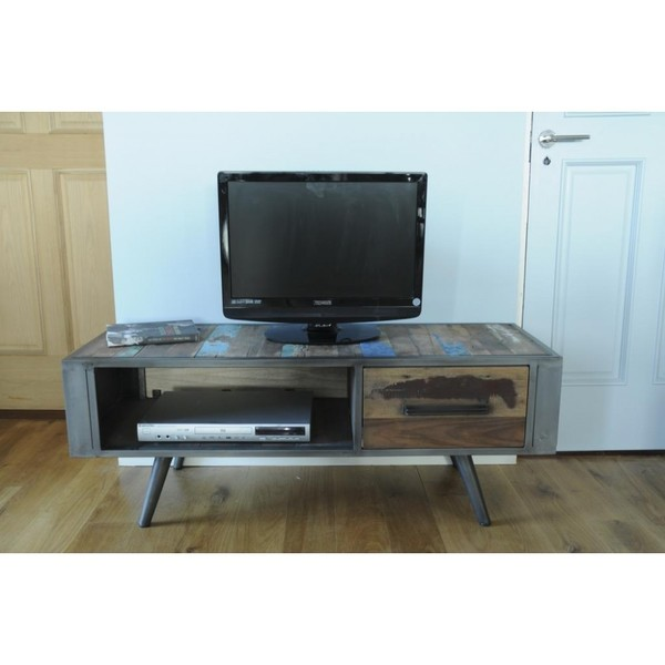 huge discount 0ee7d ca10e Reclaimed Wood Tv Unit
