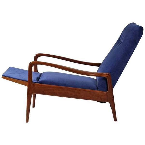 Mid Century Modern Reclining Lounge Chair By Greaves And Thomas