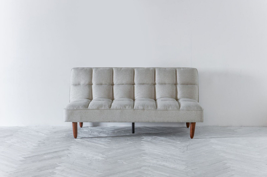 Remarkable Nina Click Clack Sofa Bed In Oatmeal Home Interior And Landscaping Ologienasavecom