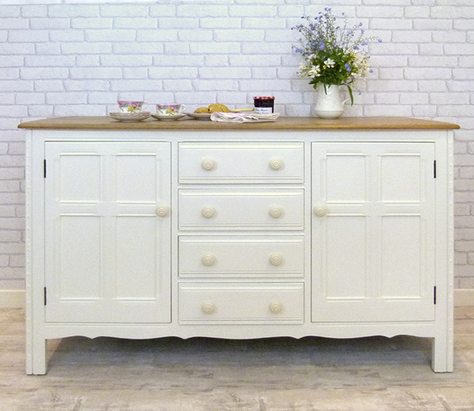 Large Cream Sideboard