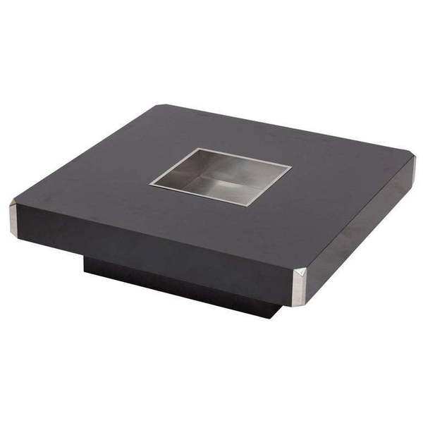 Willy Rizzo Coffee Table.Willy Rizzo Coffee Table For Cidue Italy 1970s