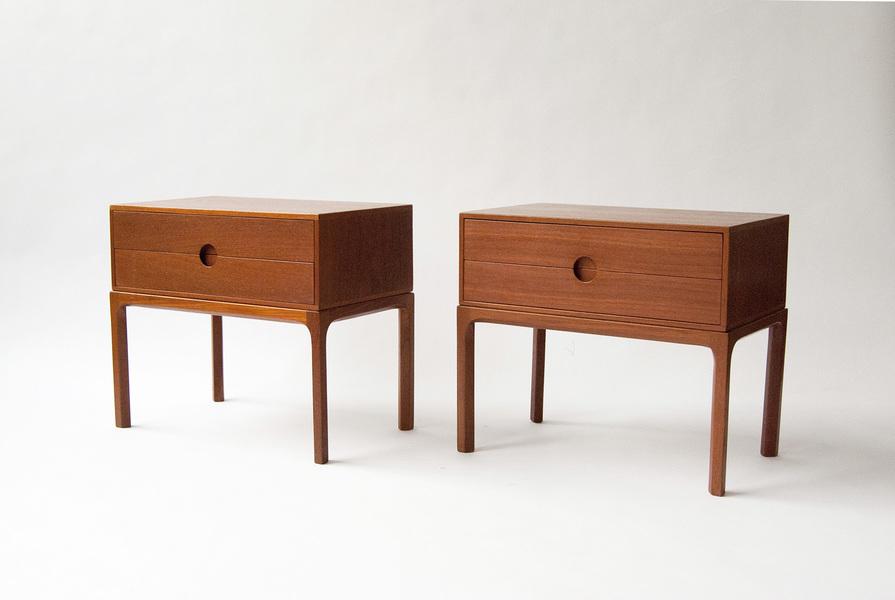 Aksel Kjersgaard Teak Bedside Cabinets, C1950s