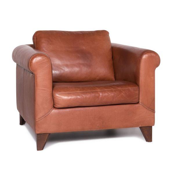 Machalke Amadeo Anilin Leather Armchair Brown Terracotta #8953 photo 1