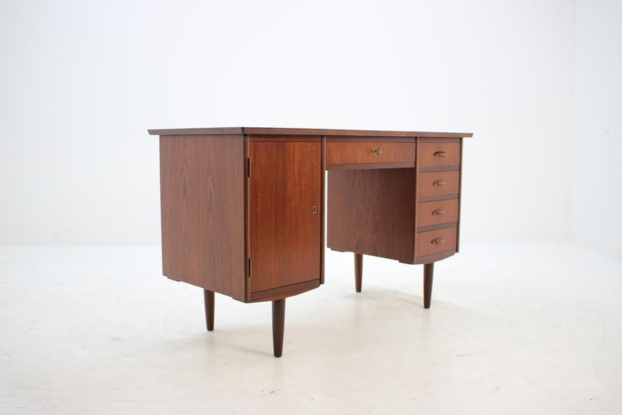 1960s Danish Teak Writing Desk