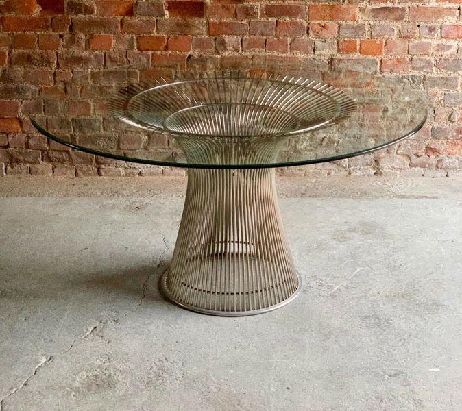 ae3ea60b08958 ... Platner Dining Table By Warren Platner For Knoll Mid Century Modern  Design photo 1 ...