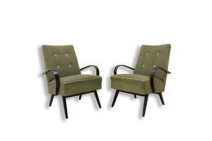 Thumb mid century lounge chairs by jaroslav smidek 1960 s czechoslovakia 0