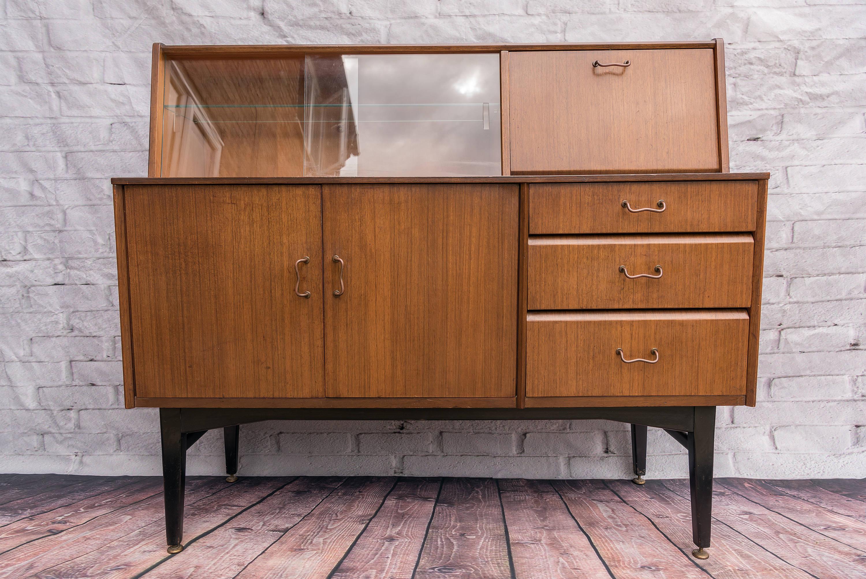 Picture of: Vintage Nathan Drinks Cabinet Mid Century Modern Bar Antique Danish Retro Teak Nathan Vinterior