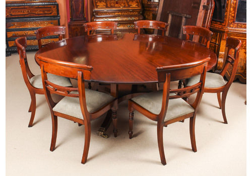 Vintage 6ft 6\  Round Table \u0026 8 Chairs William Tillman 20. & Vintage Dining Tables \u0026 Chairs | Mid Century Dining Table | Vintage ...