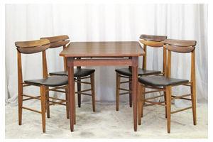 Thumb 1960s scandinavian dining set 1960s 0