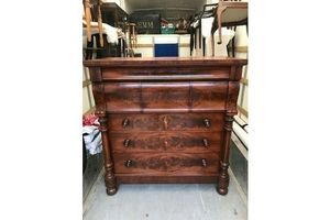 Thumb victorian mahogany scottish ogee chest of 7 drawers 0