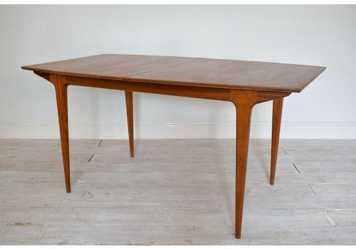Vintage Mc Intosh Extending Dining Table Mid Century