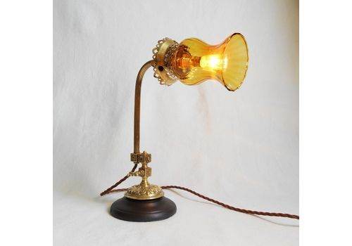 Vintage Gold Tone Horse Table Lamp Fashionable Patterns Table Lamps Lamps, Lighting