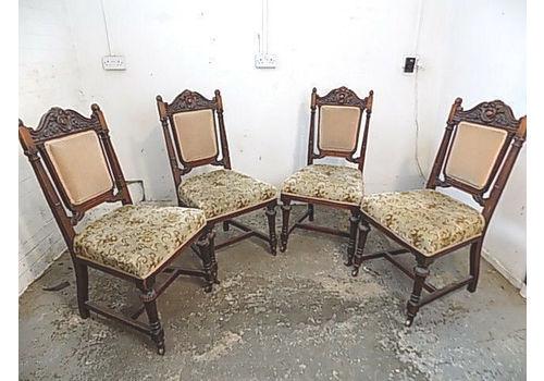 1800-1899 Antiques Antique Vintage Chair Oak Evident Effect