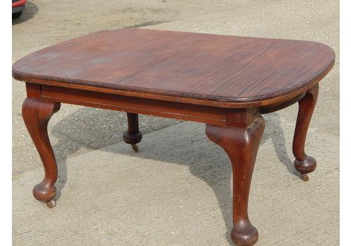 Victorian Cabriole Legs Mahogany Dining Table Dinin