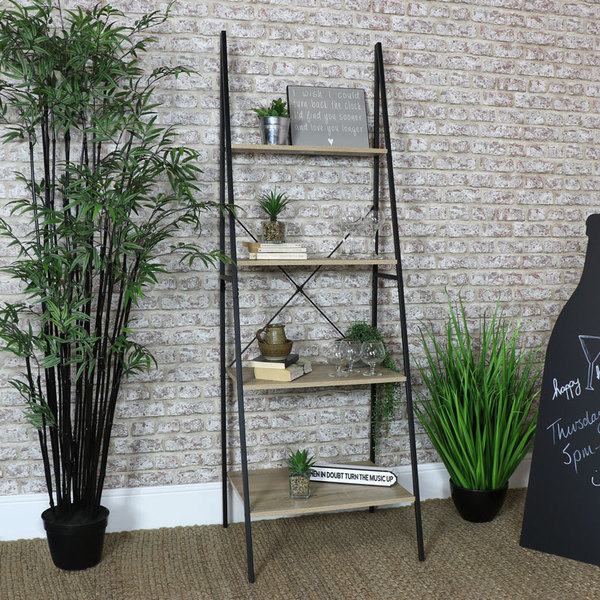 promo code 0e8ab e7465 Tall Ladder Bookcase Shelf Unit