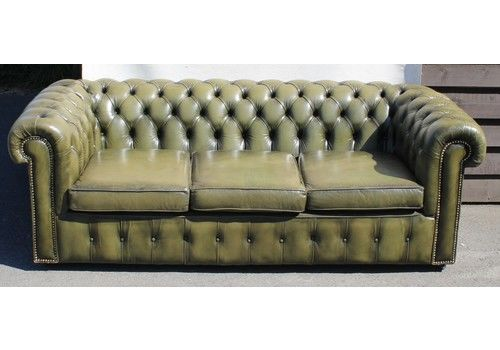 3 Seater Chesterfield Sofas | Vintage Chesterfield 3 Seater Sofa ...