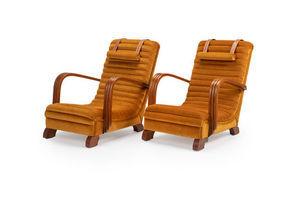 Thumb the streamline moderne art deco club lounge chairs 0