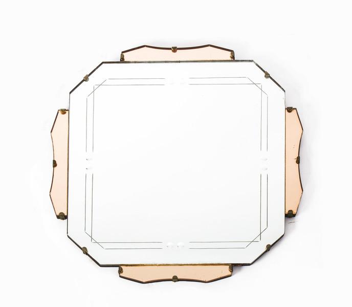 Antique Art Deco Mirror C.1920