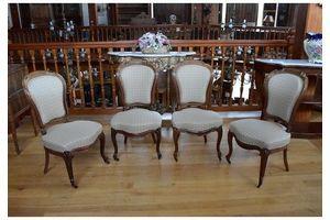 Thumb suite of 4 napoleon iii chairs 0